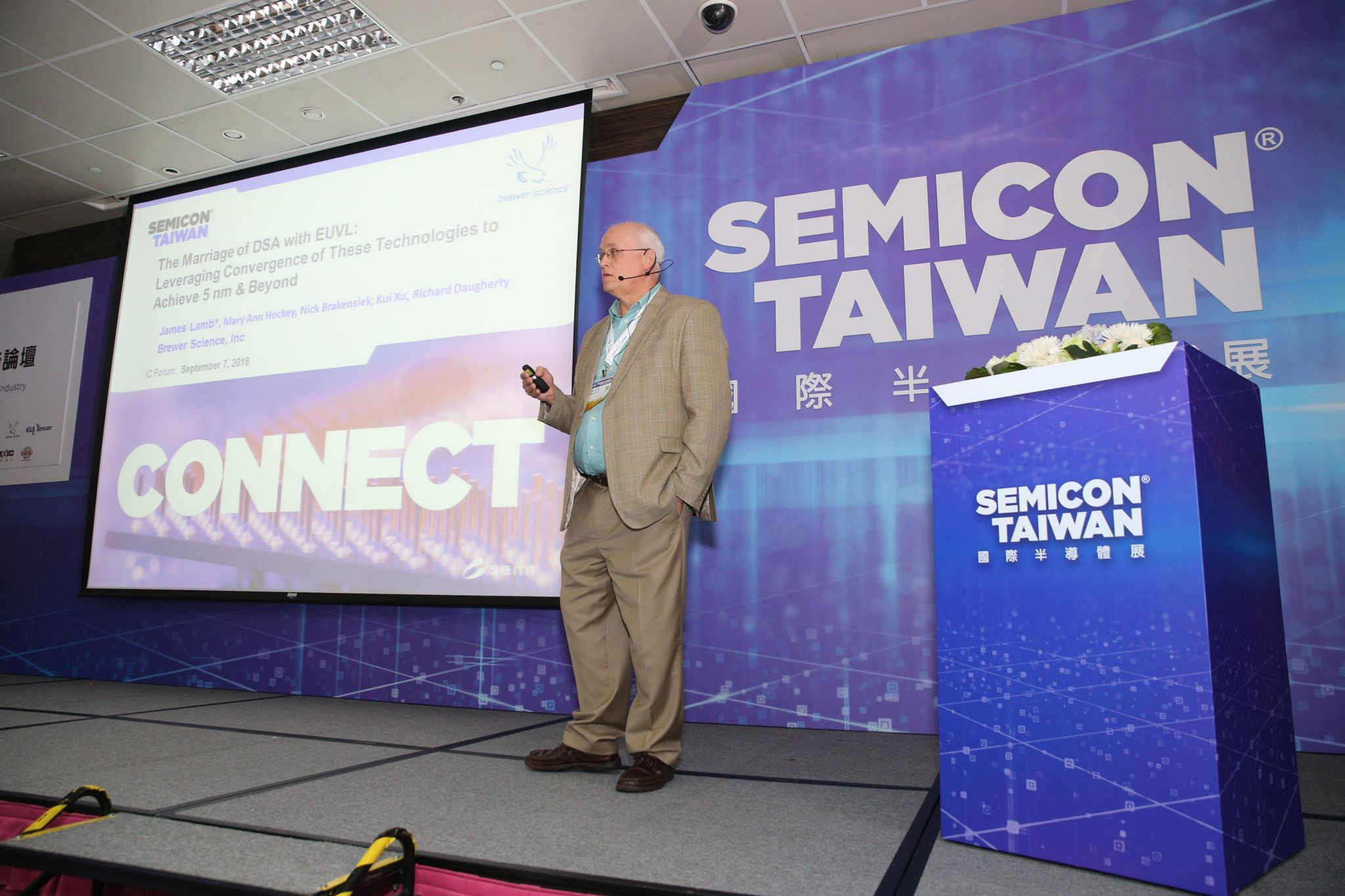 James Lamb - SEMICON Taiwan
