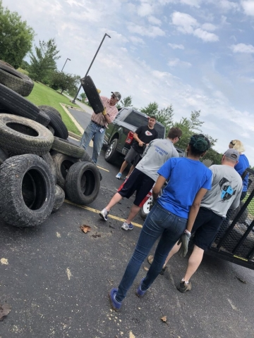 Tire Cleanup