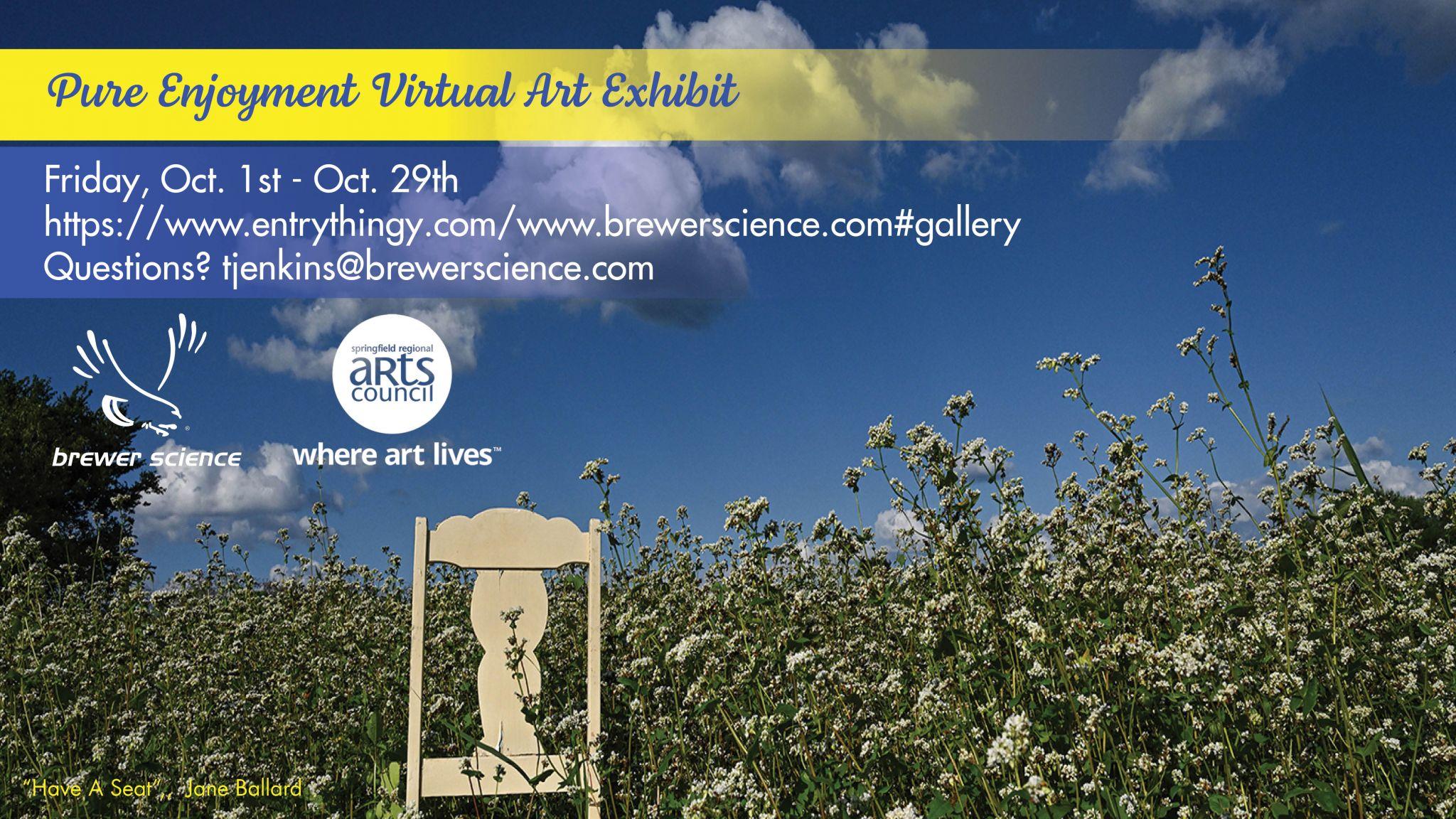 Brewer Science Pure Enjoyment Art Show 2021